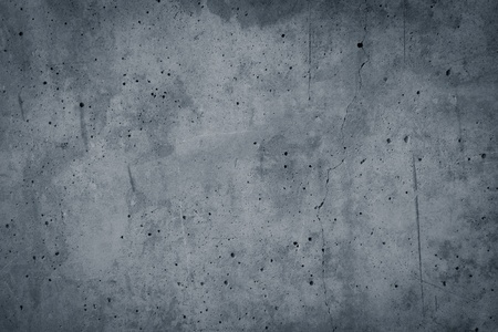Vintage grey painted plaster concrete wall background texture  Dark edged