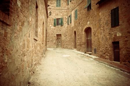 ravenna: Narrow street in Ravenna, Italy