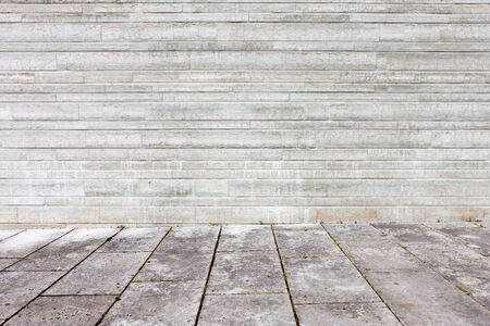 Granite flagstone pavement wall background Stock Photo