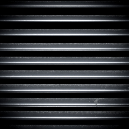 corrugated iron: Dirty metal fence texture