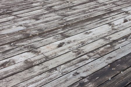 Aged wooden terrace floor  photo