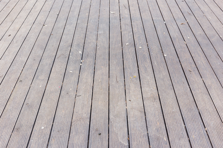 Aged gray old wooden terrace floor background photo