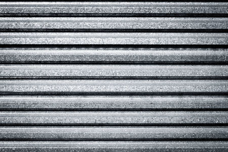 corrugated steel: Dirty metal fence background texture