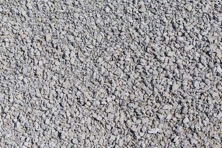 decorative crushed grey gravel texture - pattern background photo