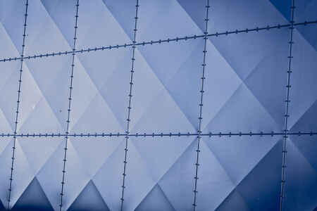 Abstract metal construction as a background texture photo