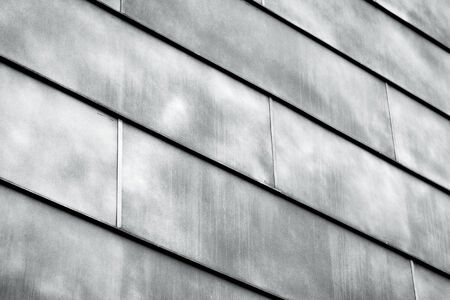 Abstract dark metal construction as a background texture photo