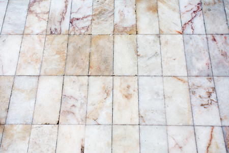 Patern of tiled marble floor textured background photo