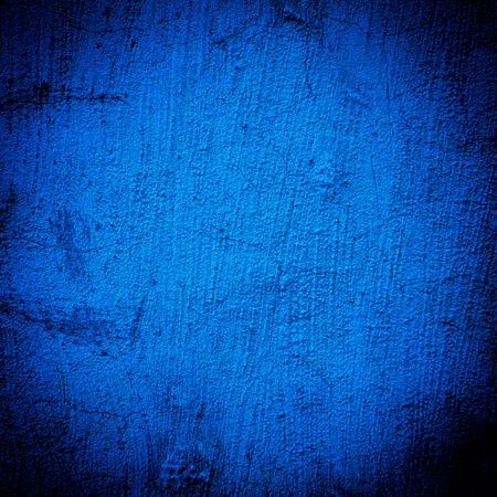 concrete blue darken wall texture grunge background - dark edges photo
