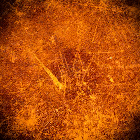 Grunge and old leather texture with dark edges photo