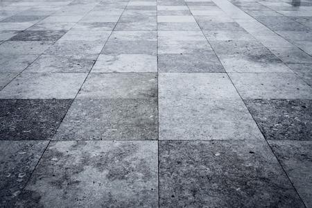 Granite square texture background with dark edges