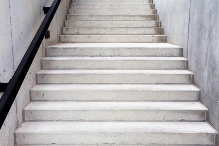 Abstract modern concrete building - stairway composition Standard-Bild