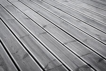 terrasse bois humide texture étage de fond