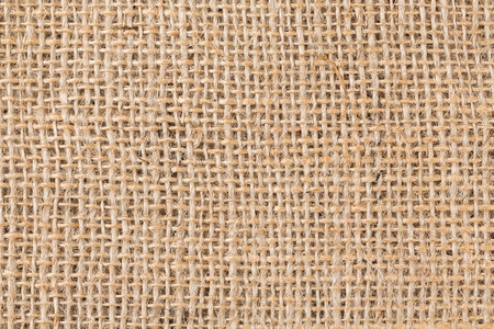 bagging: background made of old sackcloth - close up image Stock Photo