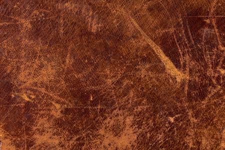 Grunge and old leather texture with dark edges Standard-Bild