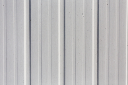 corrugation: metal fence background as a texture Stock Photo