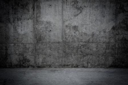 piso piedra: Pared sucia y piedra sala de piso de concreto como fondo Foto de archivo