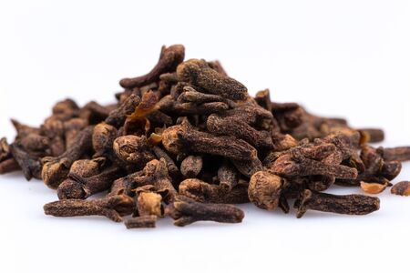 spice isolated: Cloves spice isolated on a white background