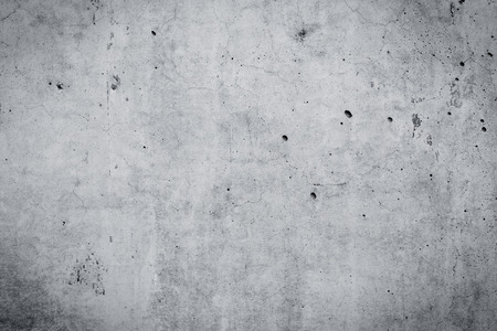 Grungy and smooth bare concrete wall for background