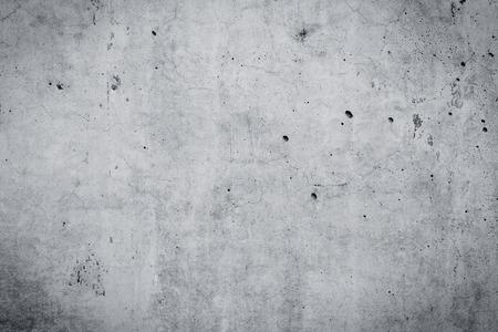 Grungy en gladde kale betonnen muur voor achtergrond Stockfoto
