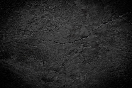 black cracked texture can be used for background Archivio Fotografico