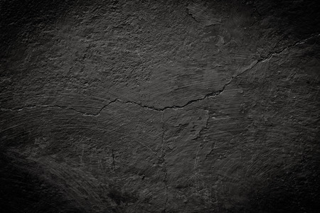 black cracked texture can be used for background Standard-Bild