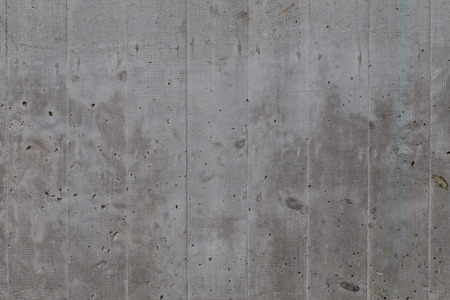 concrete wall: Grungy and smooth bare concrete wall for background