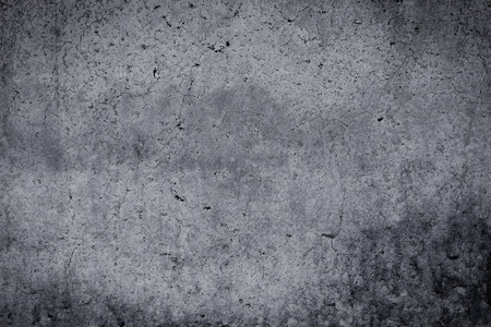 distressed texture: Grungy concrete wall and floor as background texture