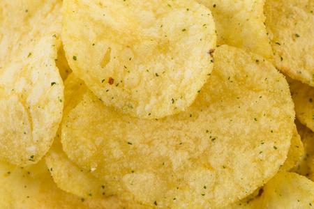 preparaba: Preparado papas fritas aperitivo primer viewas un fondo