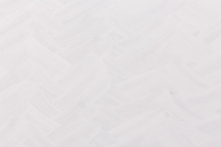 Brushed white painted wall texture