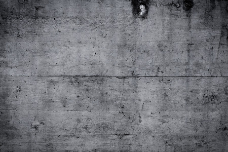 perpendicular: Grungy and smooth bare concrete wall Stock Photo