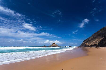 algarve: Atlantic ocean, Algarve Castelejo beach, Portugal