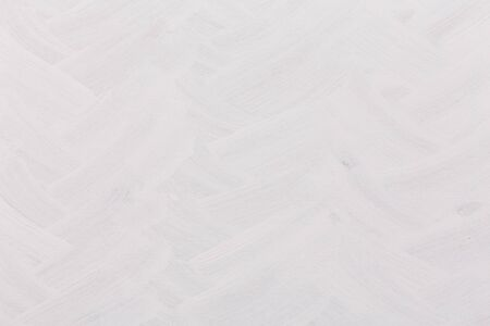 painted wall: Brushed white painted wall texture - dirty background Stock Photo