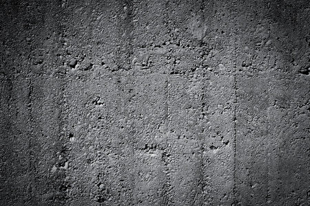 Grungy and smooth bare concrete wall for background texture