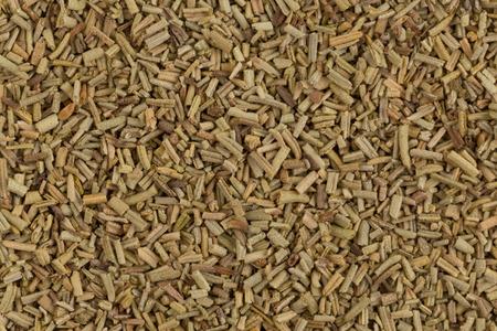 heap: Heap of dried rosemary Stock Photo