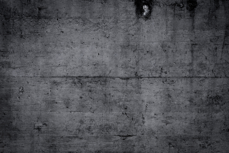 Grungy and smooth bare concrete wall for background and for texture