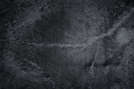 black textured background: black wall scratched grungy - textured background