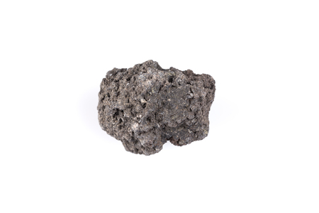 volcanic stones: Volcanic stones on a white background - Etna, Italy