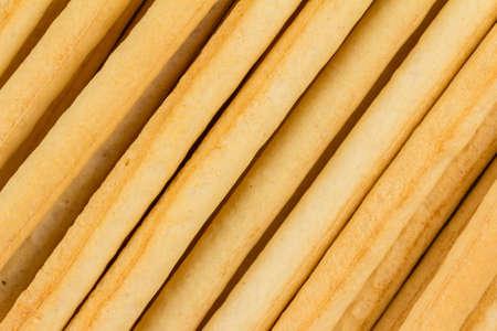 grissini: Traditional bread sticks grissini close up image Stock Photo