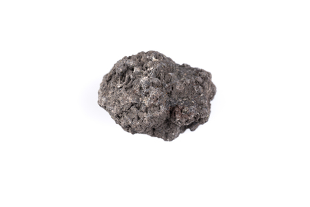 volcanic stones: Volcanic stones on a white background