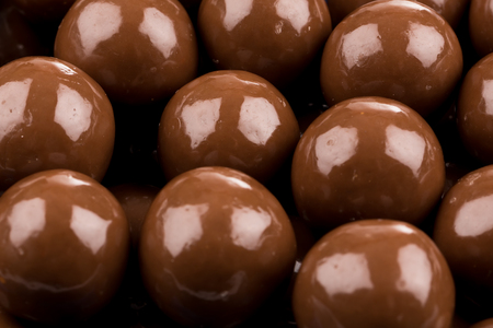 multiple: Multiple chocolate ball candies