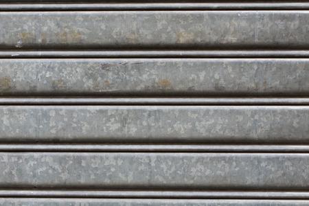 shutter door: metallic roller shutter door dark and dirty details