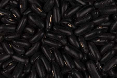 haricot: Black eyed peas beans close up shot for background
