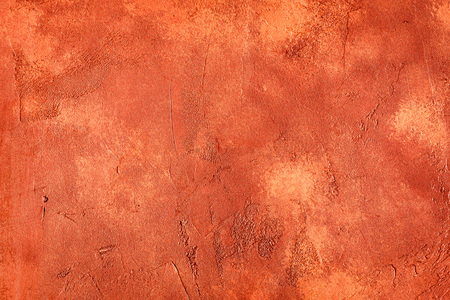 abstract red background texture concrete or plaster hand made wall