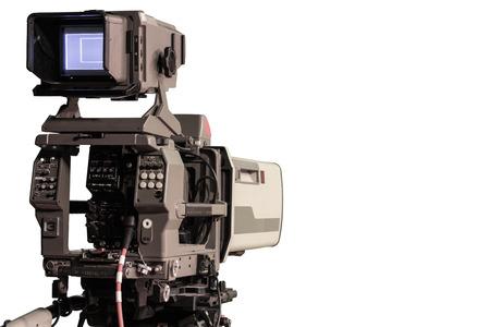 optional: TV Camera Optional Image Stock Photo