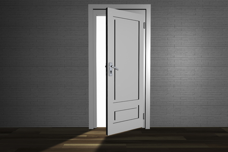 new beginnings: An open door
