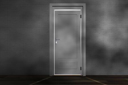 pawl: A closed door
