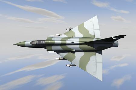Jetfighter Stock Photo