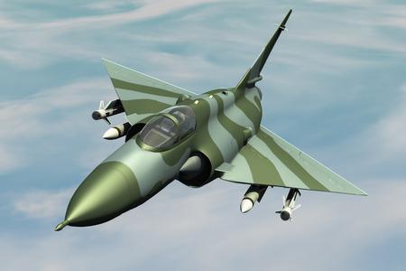 airforce: Jetfighter Stock Photo