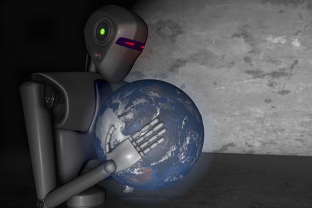 dominacion: los robots fuera de control se esfuerzan por dominar el mundo