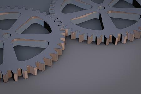 rad: Gears as a symbol for teamwork